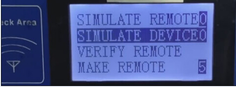 SIMULATE DEVICE