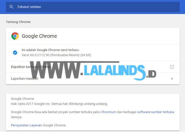 Download Google Chrome 60.0.3112.90 Offline Installer Terbaru