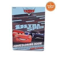 Alfacart Buku Gambar Cars Ultra Speed Coloring Book L ANDHIMIND