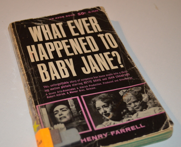 What Ever Happened to Baby Jane? movie tie-in edition