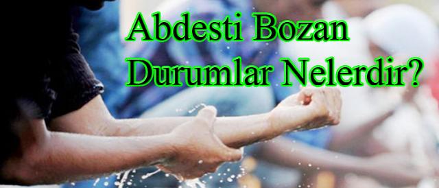 Abdesti Bozan Şeyler ve Abdestin Sünnetleri Nelerdir {featured}