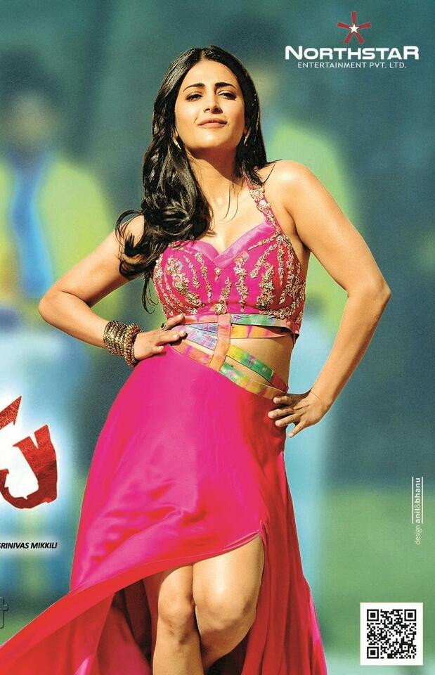 Shruti hassan Sexy Image Collections in Telugu Movie Katamaryudu ...