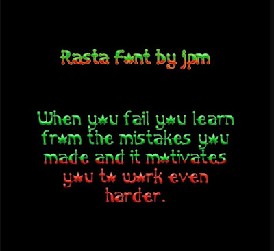 Download Rasta Font For Vivo