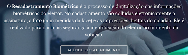 TRE-BA divulga informações sobre a biometria para Eleições 2018