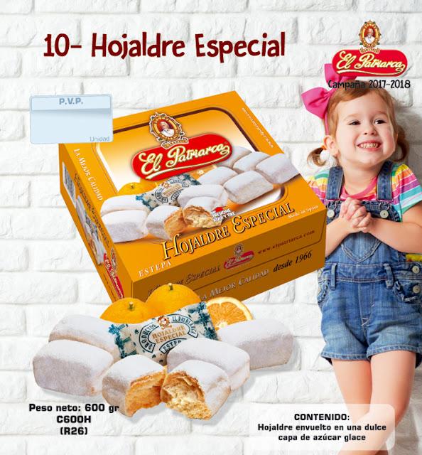 Hojaldre Especial El Patriarca 600 g - Comercial H. Martín sa