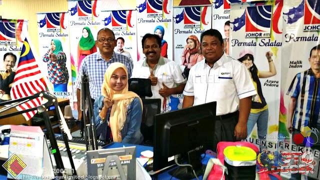 Wawancara Sambutan Hari Guru 2016 FM Johor Permata Selatan bersama Pengarah Pendidikan Negeri Johor