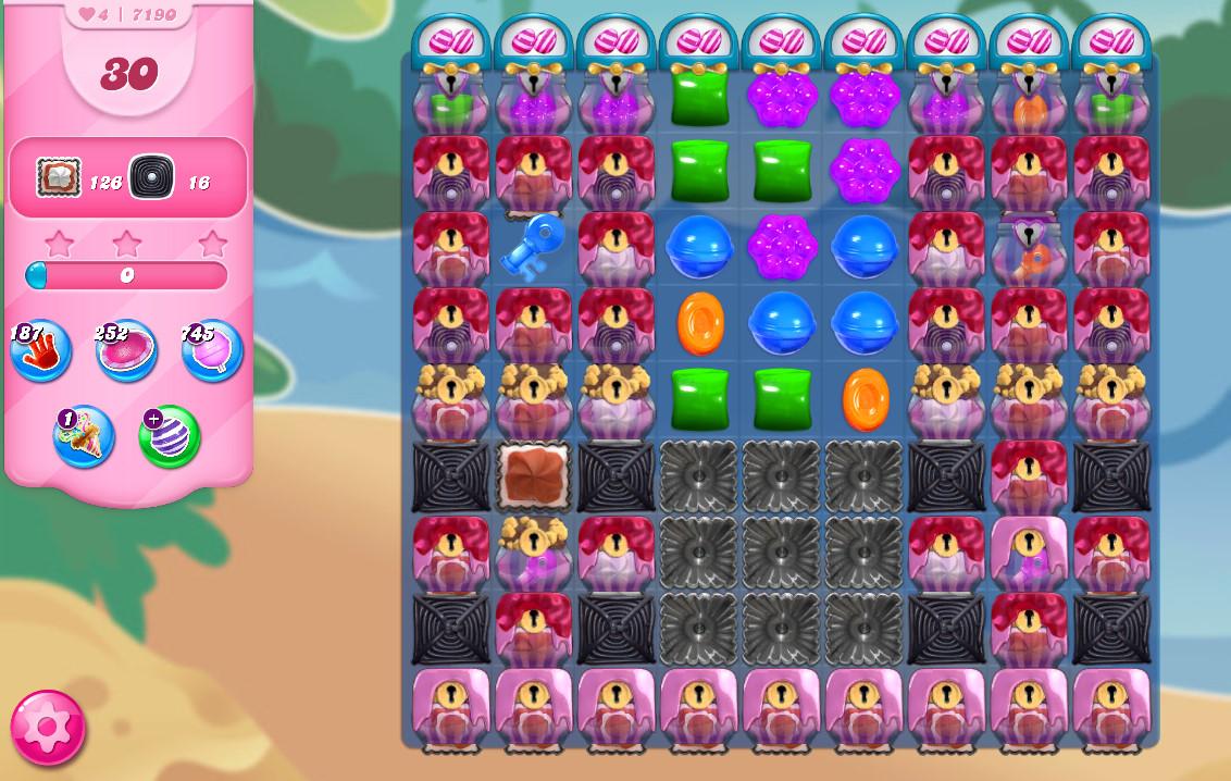 Candy Crush Saga level 7190
