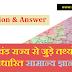 उत्तराखंड राज्य से जुड़े तथ्यों पर आधारित सामान्य ज्ञान