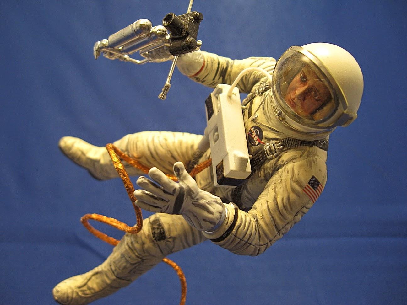 Ohio Valley Spaceport Revell 112 Scale Gemini Astronaut