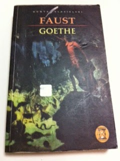 Faust Goethe ikinci el kitap satın al