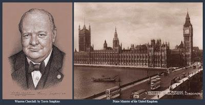 Winston Churchill. Prime Minister. Freemason. United Grand Lodge of England. by Travis Simpkins