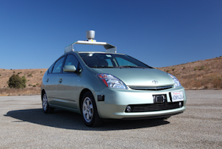 Google driverless car, self drive car