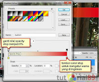 Cara membuat gradient kontras transparan
