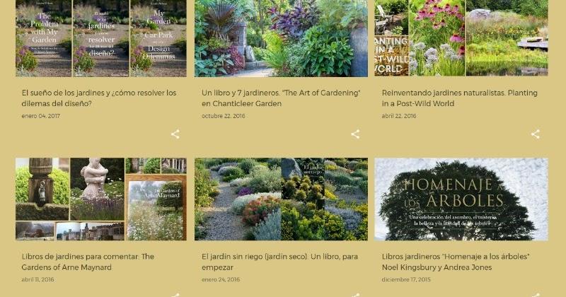 Libros de jardiner a jardines bot nica y algo m s para for Libros de jardineria