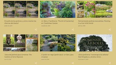 Libros de jardinería, jardines, botánica y algo más para celebrar el Día del Libro 2017