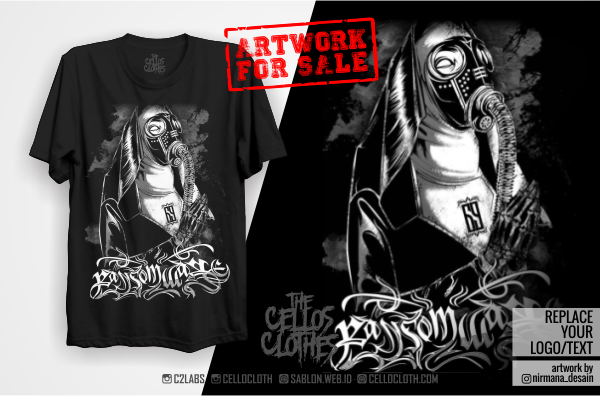 Sablon Kaos + Artwork For Sale Package #1