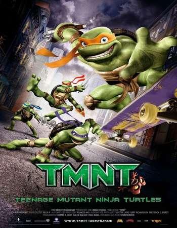 Poster Of TMNT 2007 Hindi Dual Audio 400MB BRRip 720p ESubs HEVC Free Download Watch Online downloadhub.net
