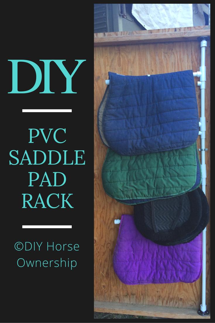 how to make a swiveling pvc saddle pad