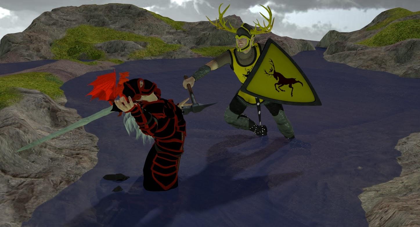 ganys 3d and drawings world rhaegar targaryen vs robert baratheon