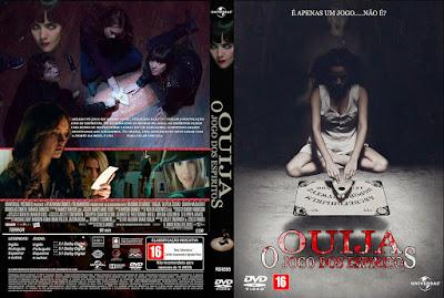 Filme Ouija - O Jogo dos Espíritos DVD Capa