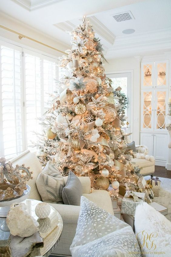 Gold Christmas Decorations And Holiday Decor Ideas