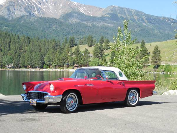 Immaculate Condition, 1957 Ford Thunderbird