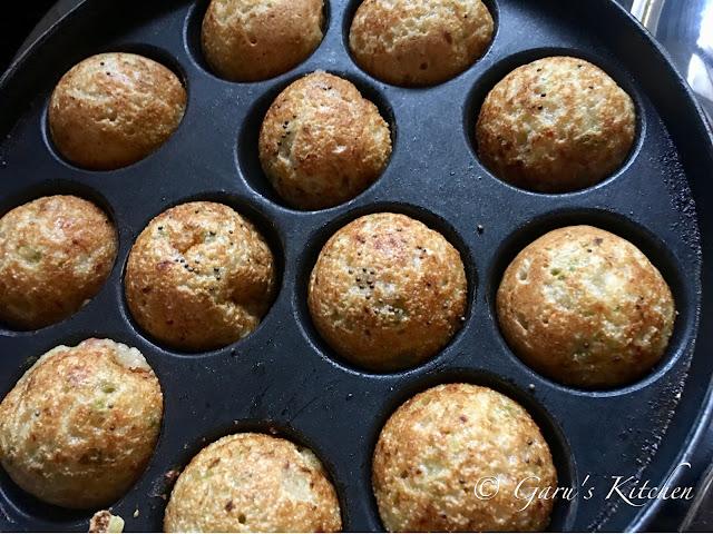 instant veg rava appam recipe | appam recipe | sooji appe recipe