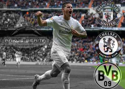 Chelsea, Manchester United, Borussia Dortmund, Ketiga Klub Ini Akan Membeli Jamez