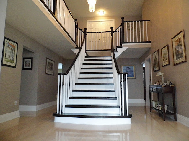 Custom Metal Stairs Railing Burlington