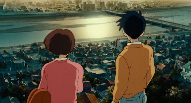 Película Susurros del Corazón de Studio Ghibli, dirigida por Yoshifumi Kondo en el año 1995, con guión de Hayao Miyazaki