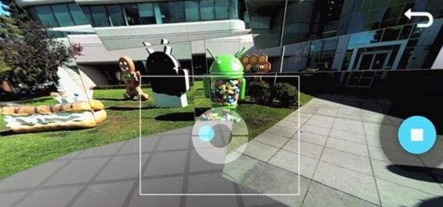 google camera photo sphere mode