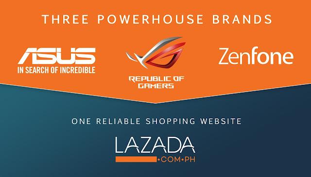 Three Powerhouse Brands - Lazada PH