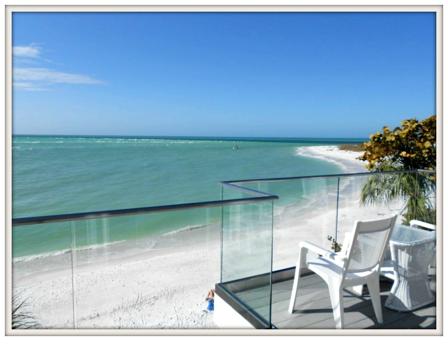 Gulf of Mexico Ocean View-Serendipity I- Ana Maria Island Rental- From My Front Porch To Yours