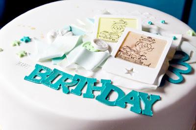Geburtstagstorte für Scrapper