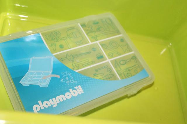 bacs de rangement pour playmobil