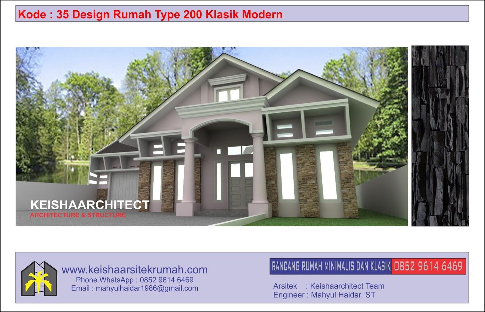 770 Foto Desain Rumah Type 200 HD Terbaru Yang Bisa Anda Tiru
