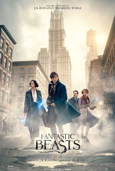 Poster Of Fantastic Beasts and Where to Find Them 2016 English 720p HDRip Full Movie