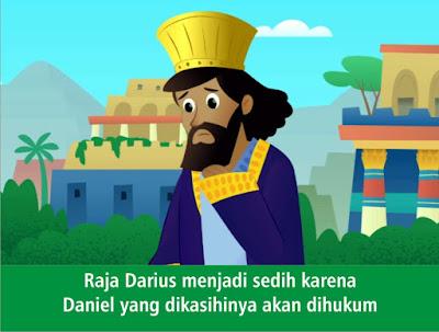 Komik Alkitab Anak: Komik : Daniel di Gua Singa