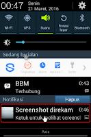 Cara screenshot pada ponsel samsung galaxy young GTS6310