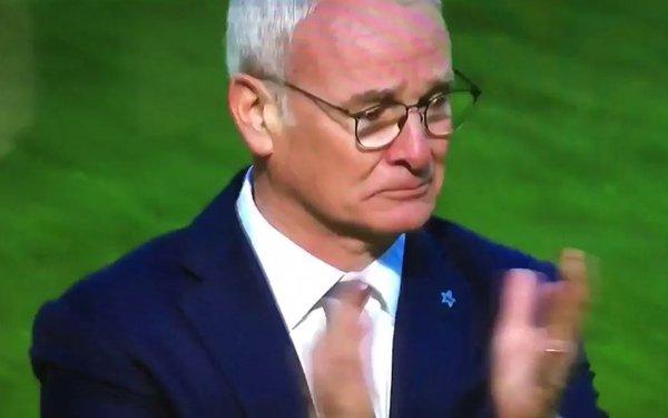 Ranieri llorando