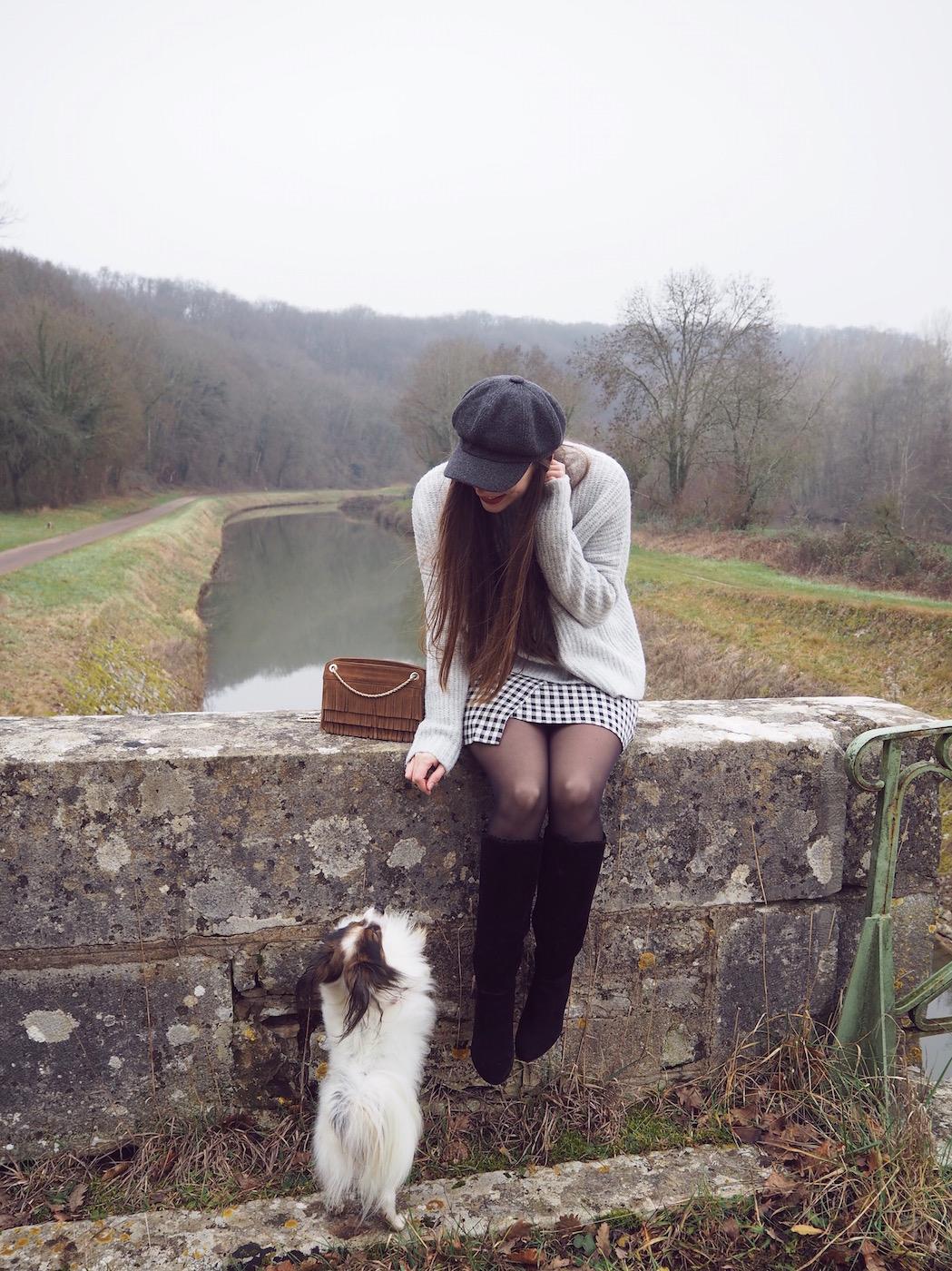 blogueuse mode et chien