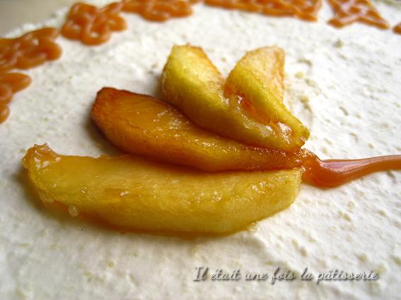 Bavarois pommes spéculoos