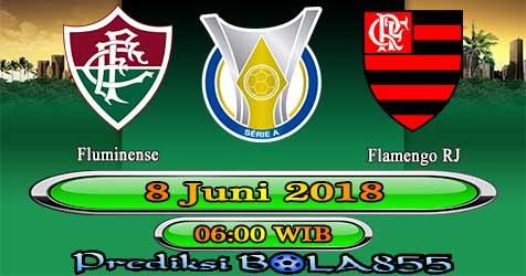 Prediksi Bola855 Fluminense vs Flamengo RJ 8 Juni 2018
