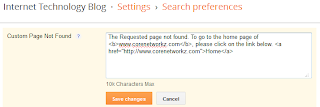 Blogger link not found issues and search rank