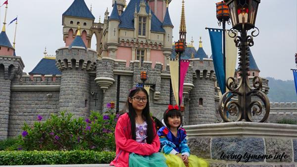 Sleeping Beauty's castle Hong Kong Disneyland