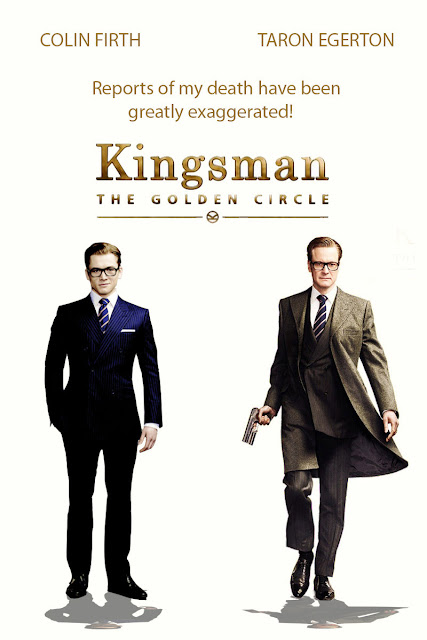 Tengok wayang Kingsman The Golden Circle tak habis
