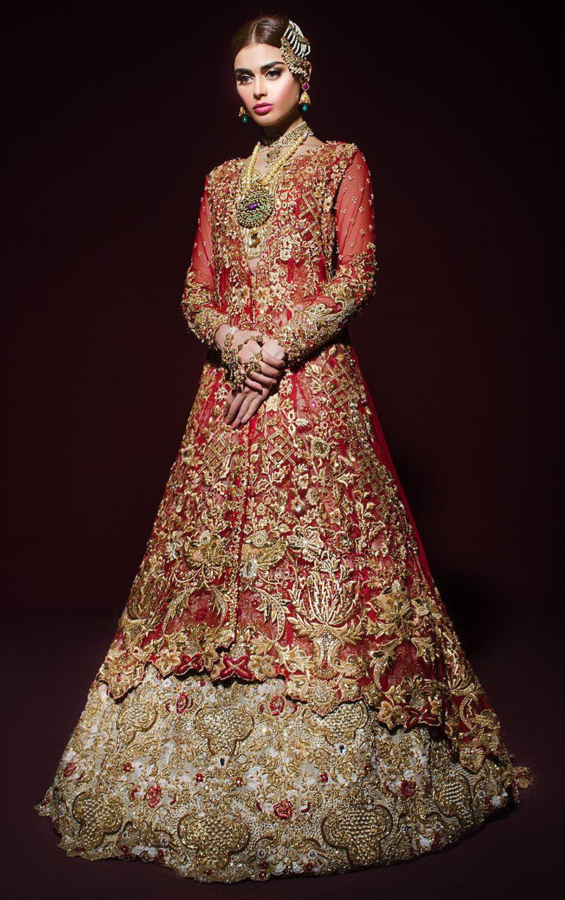 8c22e9b62c Tena Durrani Lawn and Dress Collection: Tena Durrani Bridal 2017 ...