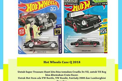 Hot Wheels Case Q 2018