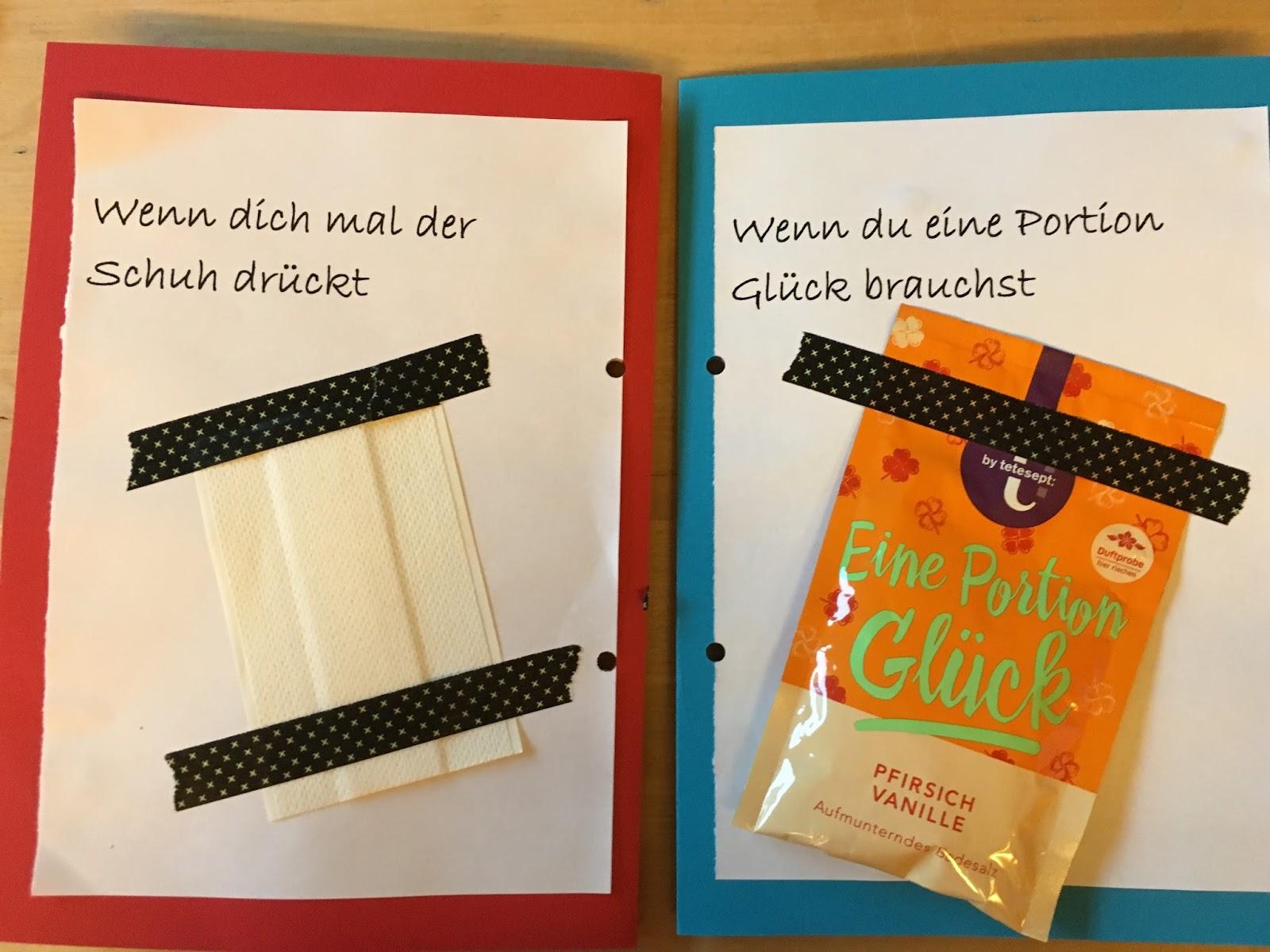 Birgit schreibt: Geschenkidee: Wenn-Buch