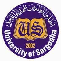 Sargodha University MSc Result 2017, Part 1, Part 2
